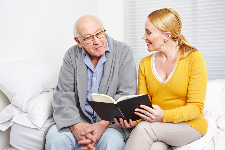 4 Books for Caregivers to Read with Seniors