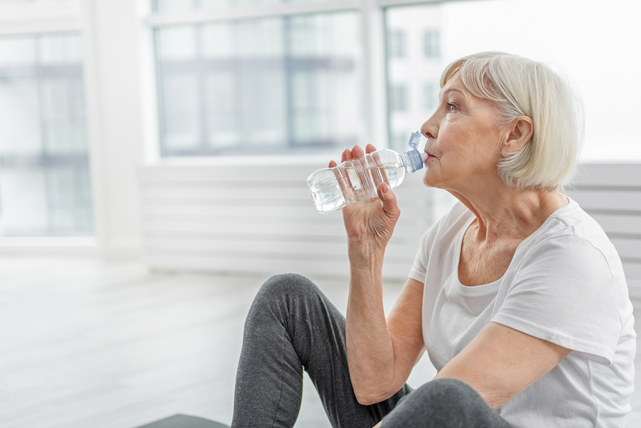 How Can You Get Your Parent to Drink More Water?